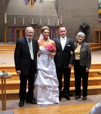 Fran & Neill's wedding