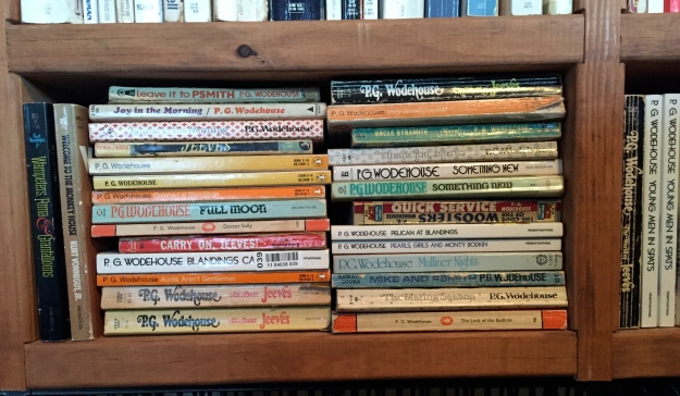 ...and in case that wasn't enough Wodehouse.