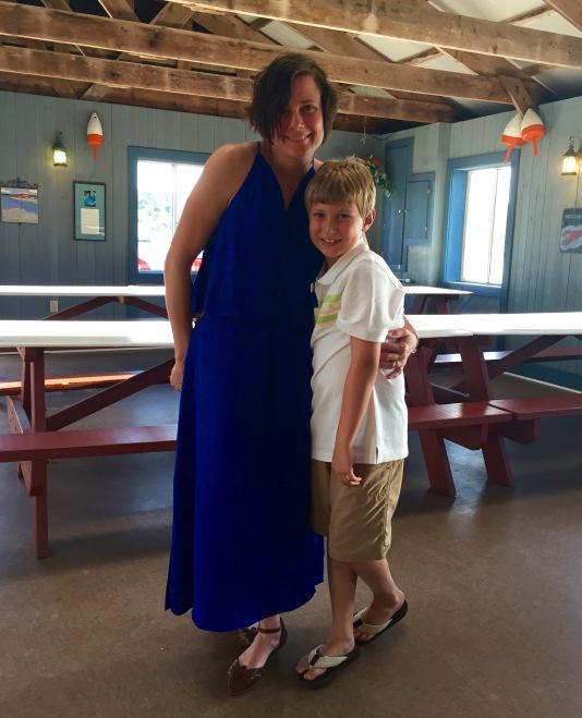 Juli and her nephew