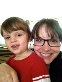 Bosco and Auntie Laura