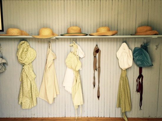 Schoolhouse Coat Room