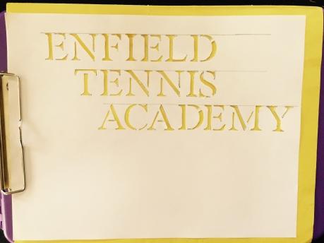 Enfield Stencil