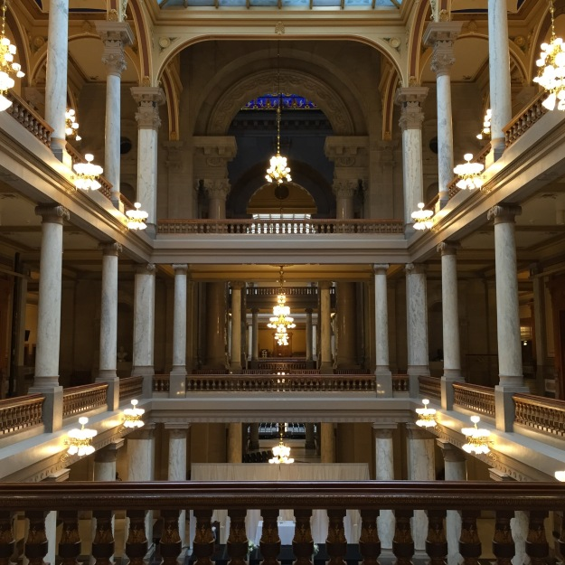 Indiana State Capital Atrium