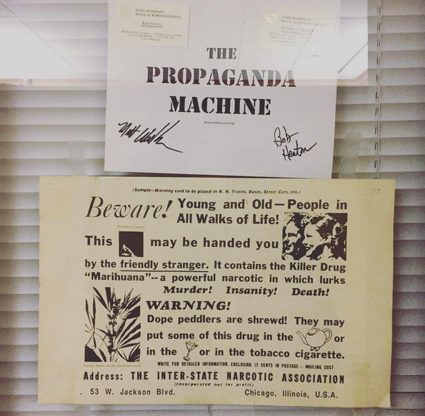 The Propaganda Machine