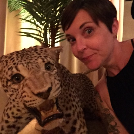 Me and a Leopard