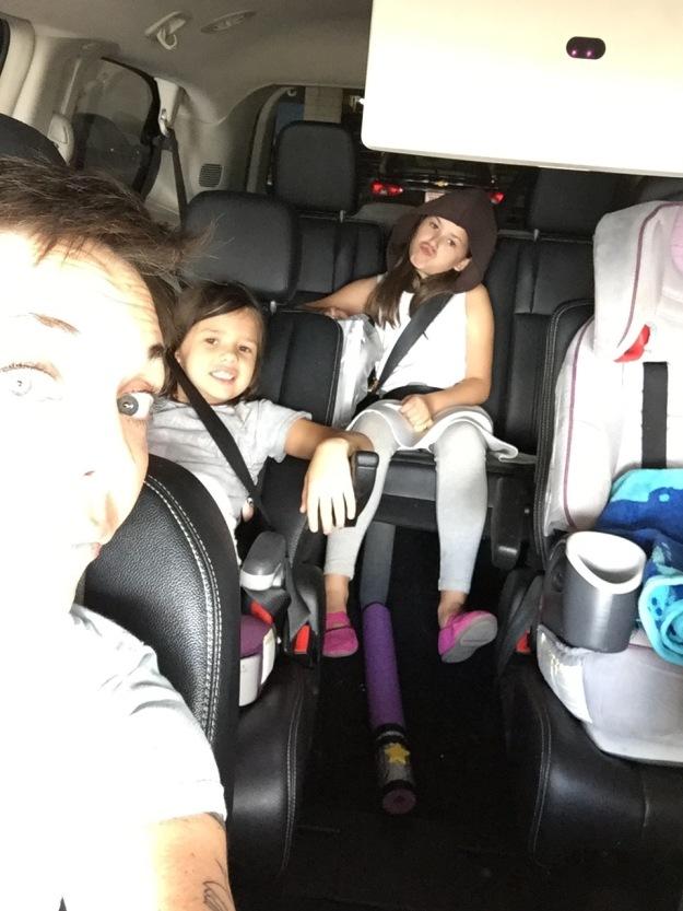 Minivan Selfie