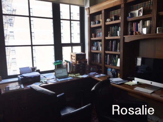 Rosalie's Writing Space