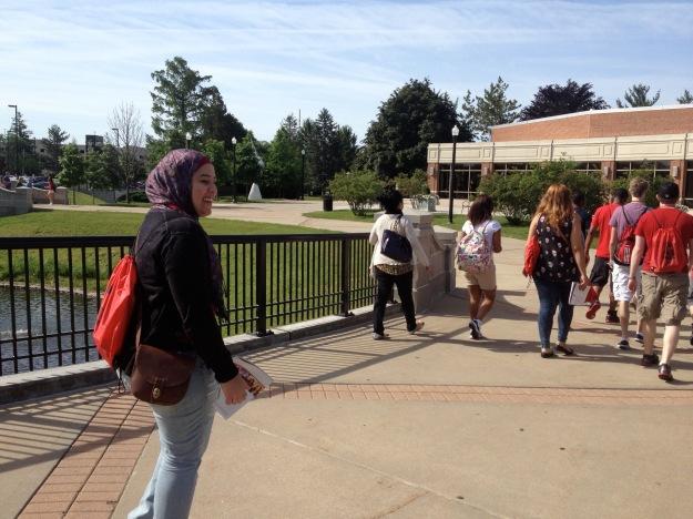 NIU's new student orientation!