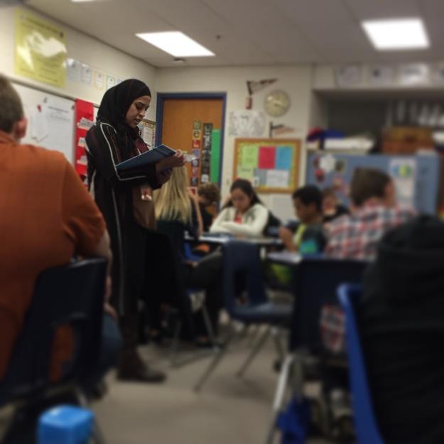 Shaz the teacher!