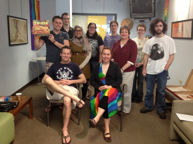 Writer's Block celebrates the end of the year and the Voices 2013 issue